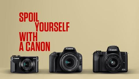 Canon lanserer kampanje som oppfordrer oss til å tenke mer på egne ønsker i julehandelen