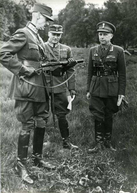 Kong Haakon og Kronprins Olav