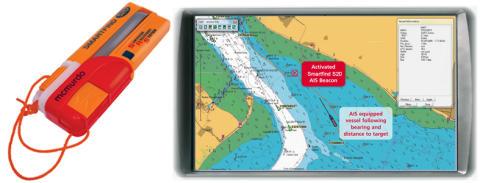 McMurdo lanserar Smartfind S20 AIS-larmsändare.