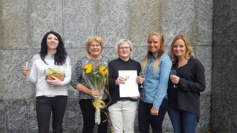 Solrosen till Avd 1 Medicinkliniken Köping