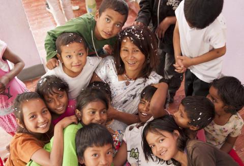 indiraramanagarwith Children