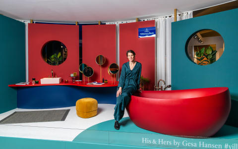 """Das Badkonzept """"His & Hers"""" – Annährung oder Gegensatz? Ein Gespräch mit Designerin Gesa Hansen"""