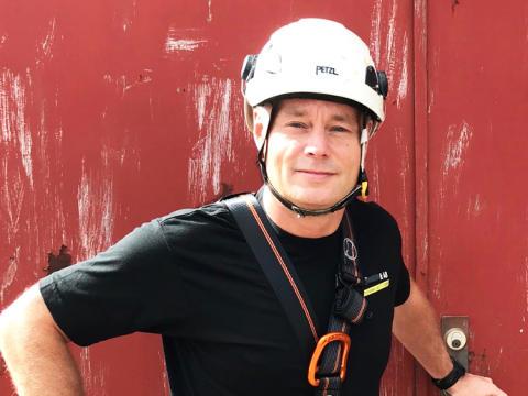 Fallskydd -  hur du kan arbeta säkert i en riskfylld miljö