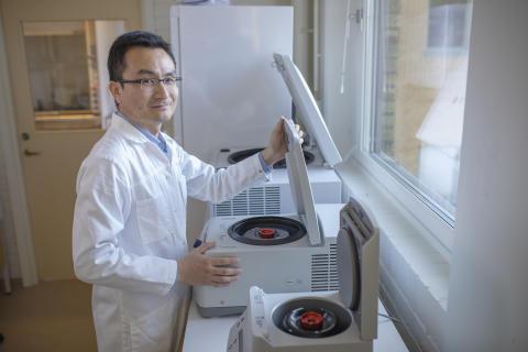 Yaowen Wu tilldelas Göran Gustafssonpriset i molekylär biologi