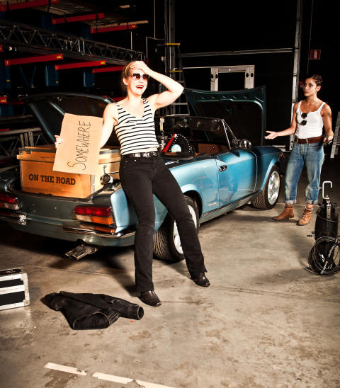On the Road - en musikalisk dansresa