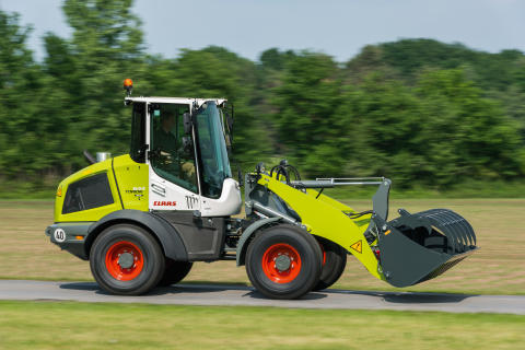 ​TORION SINUS – CLAAS introduces a fourth wheel loader model series