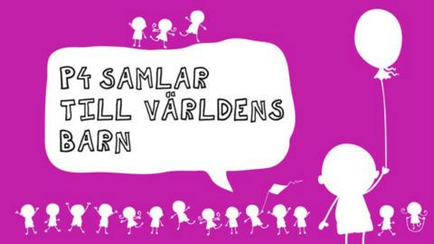 P4:s och Radiohjälpens Världens Barn-insamling direktsänds från Nordstan