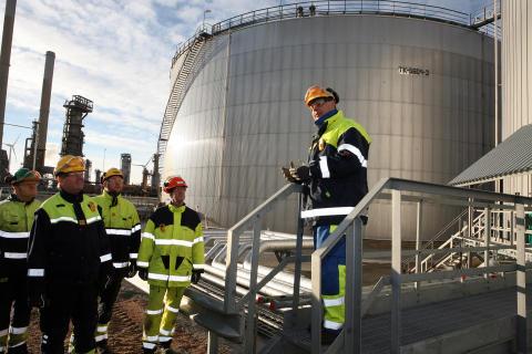 Ny tank för vakuumgasolja