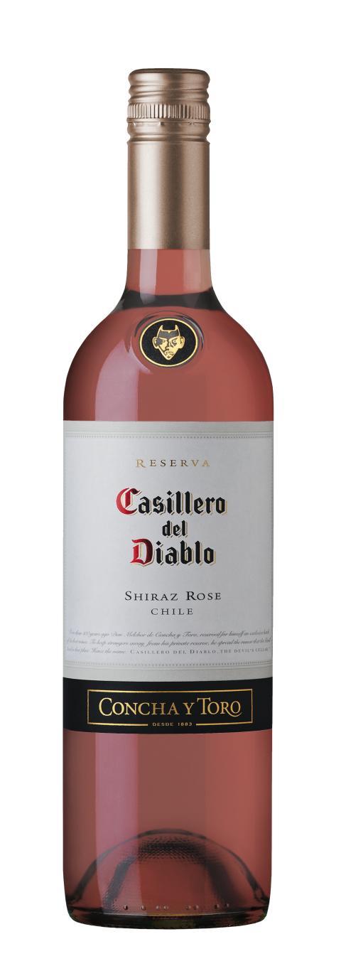 Casillero del Diablo rosé – Äntligen i Sverige