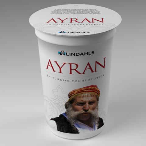 Ayran - vår senaste tillökning i yoghurtfamiljen!