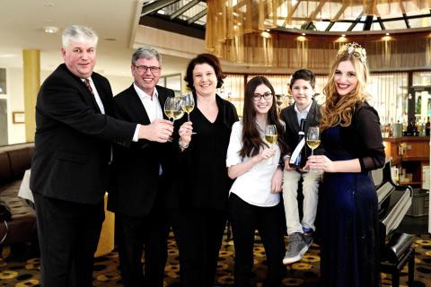 Weinseelige Jubiläumsgala: ein voller Erfolg