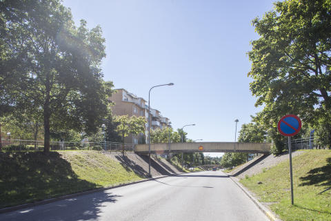 Rinkebystråket. Vy över stråket augusti 2013.
