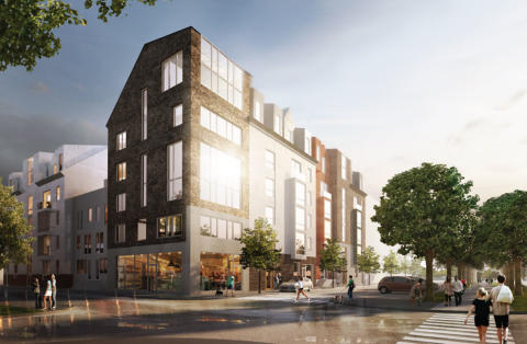 Kärnhem planerar för nya bostäder i centrala Norrköping