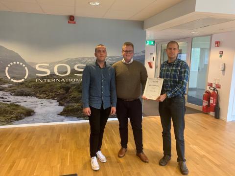 SOS International delar ut pris till Europcar!