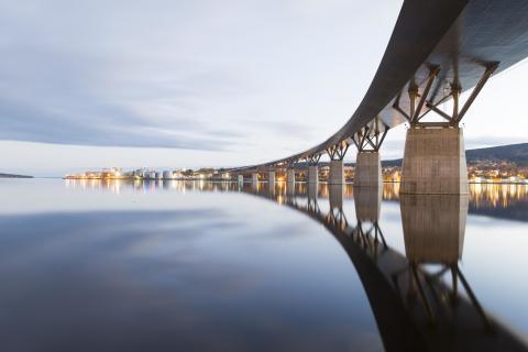NOMINATED ROAD AND RAILWAY BRIDGES: Sundsvallsbron