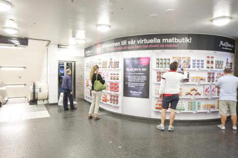 Matbutiken i fickan - MatHem.se presenterar ett nytt sätt att handla