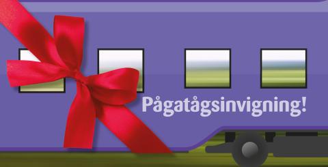Pågatågens ankomst firas den 13 december