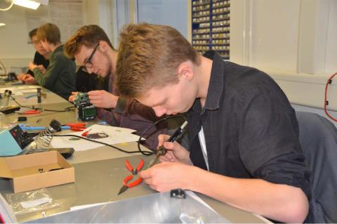 7. Schüler-Ingenieur-Akademie Telematik: Abschlusspräsentation