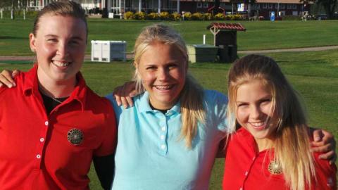 Best Western Hotels ger golftjejer möjlighet att spela med proffsen på Nordea Tour för att samla in pengar till BRIS