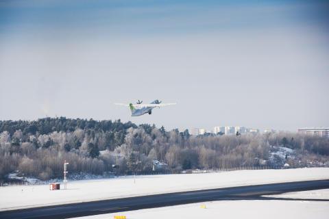 Bromma Stockholm Airport, start