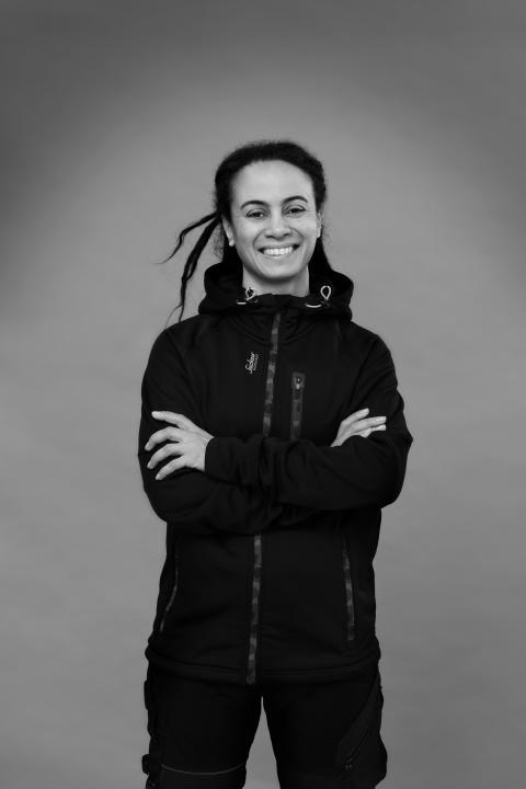 Nicole Rimér. Designchef Snickers Workwear