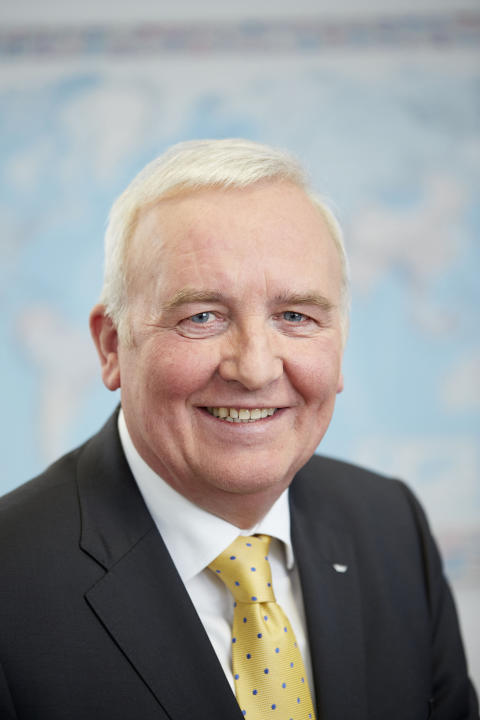 Winfried Heusler (Senior Vice President Global Building Excellence hos Schüco)