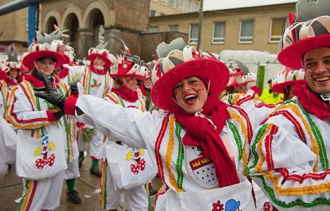 Karnevalsprosesjon i Köln