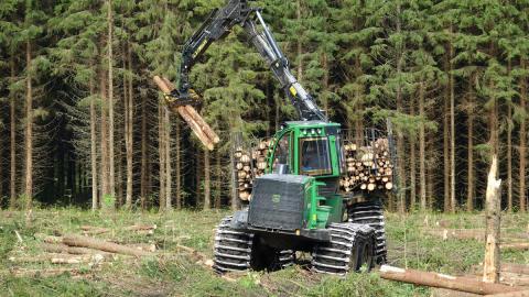 Attraktivare skogsarbete med spelteknik