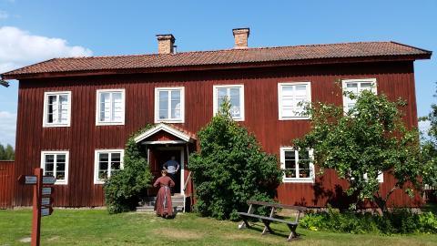 The World Heritage Farmhouses in Hälsingland are being protected with the help of the University of Gävle