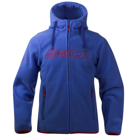 Bryggen Youth Jacket - Warm Cobalt/Red