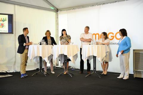 STD-företagens seminarium om innovationskraft i Almedalen. Foto: Anette Persson