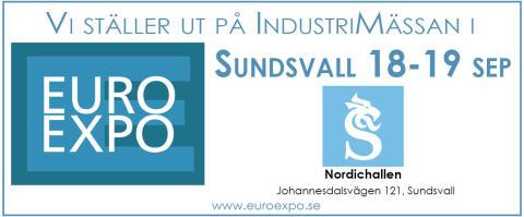 Kom och möt oss på Europexpo i Sundsvall 18-19 sep och se/hör om det senaste inom mätinstrument