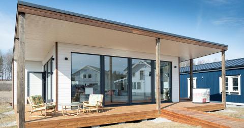 Nytt fritidshus med 270 graders utsikt öppnar på Nybygget