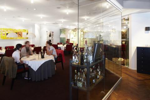 Restaurang Gastros Fine dining-del