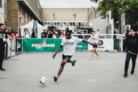 Gadefodbold, GAME Finals
