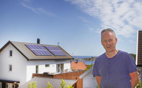 Solcelleanlegg Flekkerøy