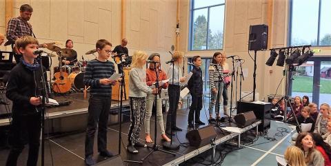 Giersings Realskole for fuld sang og musik