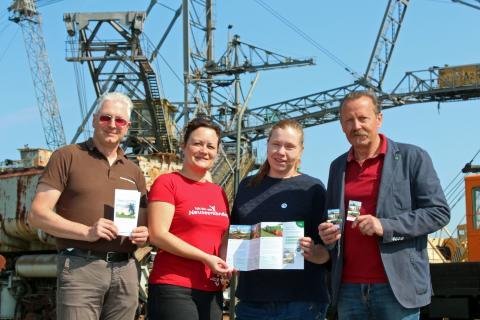 Industriekultur im Leipziger Neuseenland erleben: Kombi-Ticket Bergbautradition ab sofort erhältlich