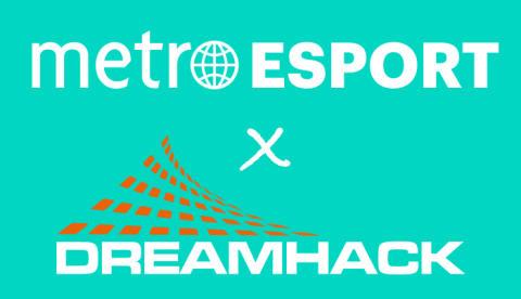 Metro Esport är stolt mediepartner till DreamHack Summer.