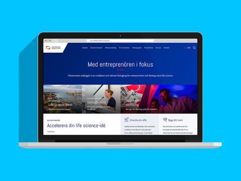 Sahlgrenska Science Park får en ny och mer fokuserad webb