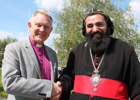 Dioscoros tar över efter Wejryd som ny ordförande för Sveriges kristna råd