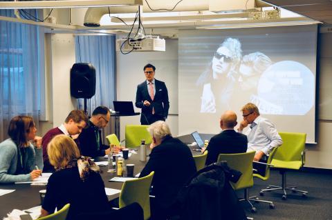 Chefekonom Carl Eckerdal presenterar Konjunkturbrev för Q4 2018