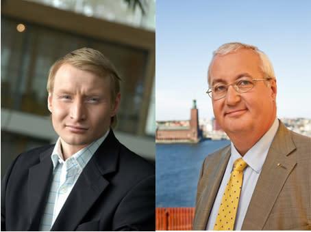 Sten Nordin (M) / Pehr Granfalk (M) på SvD Brännpunkt: Bäst för Sverige om Stockholm får Eurovision 2013