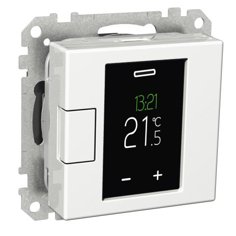 Schneider Electric lanserer en ny touchtermostat med nye funksjoner.