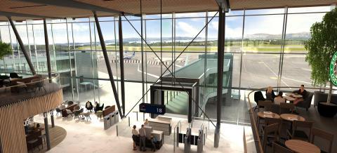 Utsikt fra paviljong i piren_Copyright Nordic Office of Architecture