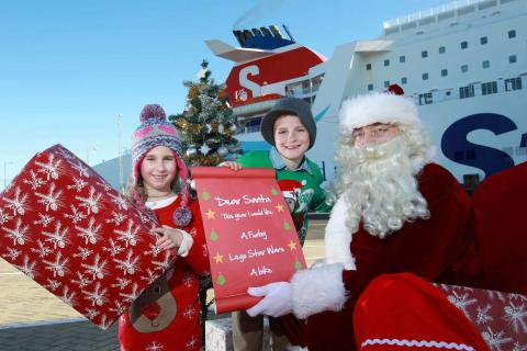 Enjoy a ferry-tale Christmas cruise with Stena Line