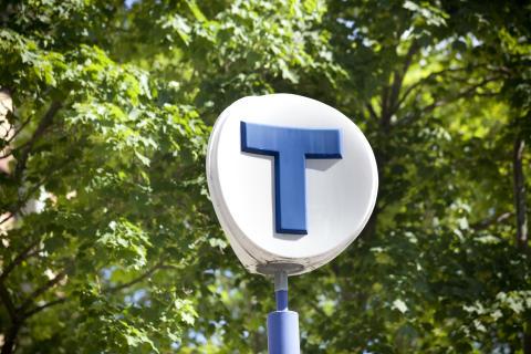 Skylt Stockholms tunnelbana