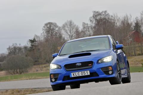 Subaru WRX STI får toppbetyg av amerikanska IIHS