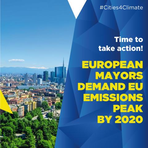 Växjö kommun är med i upprop för mer ambitiösa klimatmål 2050