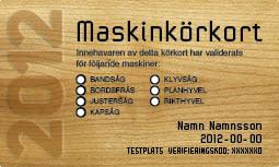 Pressinbjudan: Minskade risker med Maskinkörkortet – en god affär